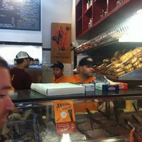 Photo taken at Leo's Bagels by Bora L. on 6/27/2012