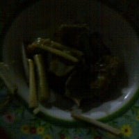 Photo taken at WR. Sate Kambing Pak Sohip by Perry K. on 4/24/2012