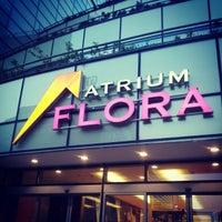 Photo taken at Atrium Flora by Jan Š. on 4/30/2012