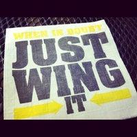 Photo taken at Buffalo Wild Wings by Rachel F. on 9/1/2012