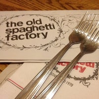 Photo taken at The Old Spaghetti Factory by Paxton B. on 5/2/2012
