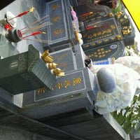 Photo taken at Teluk Bahang United Hokkien Cemetery by Vivien on 3/24/2012