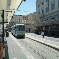 Photo taken at Tram 5 - Termini / Gerani by Popoy D. on 7/20/2012