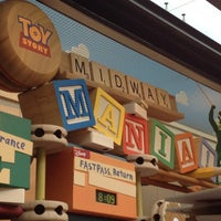 Photo taken at Toy Story Mania! by Molly B. on 6/9/2012