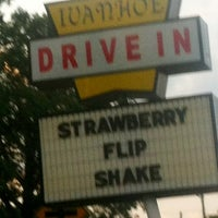 Photo taken at Ivanhoe's Drive In by Rebecca C. on 6/11/2012