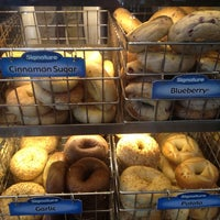 Photo taken at Einstein Bros Bagels by Heather R. on 7/10/2012