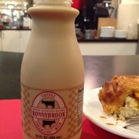 Photo taken at Ronnybrook Farm Dairy Milk Bar by Sarah on 8/15/2012