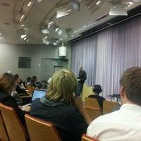 Photo taken at Stanford Technology Ventures Program by Enrick B. on 2/9/2012