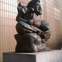 Photo taken at Ebisu Statue by daisuke n. on 2/21/2012