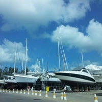 Photo taken at Royal Phuket Marina by Pariyanuchy J. on 7/22/2012