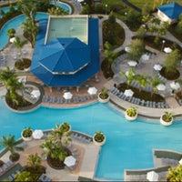 Photo taken at Hilton Orlando by Dapo on 9/1/2012