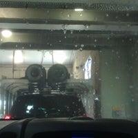 Photo taken at The Glo Car Wash by Jenn O. on 6/17/2012