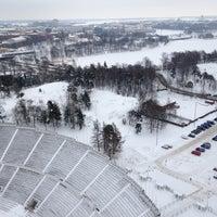 Photo taken at Stadionin torni by Juuso S. on 2/18/2012
