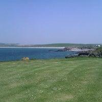 Photo taken at Penrhyn Bay Caravan Park by Paul G. on 5/25/2012