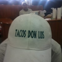 Photo taken at Tacos Don Luis by Gillian D. on 4/27/2012