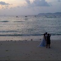 Photo taken at Beach, Fisherman Divers by Zabidi Z. on 3/26/2012