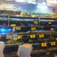 Photo taken at Pantai Seafood 水上人家 by Kennaft L. on 4/6/2012