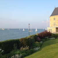 Photo taken at Royal Yacht Squadron by Paul D. on 5/29/2012