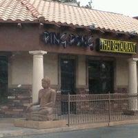 Photo taken at Ping Pong Thai by Meko V. on 3/16/2012
