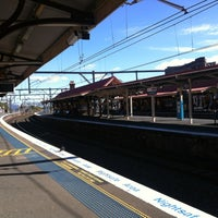 Photo taken at Redfern Station (Concourse) by Ivan S. on 8/4/2012