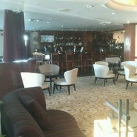 Photo taken at Four Points by Sheraton Hotel & Suites San Francisco Airport by I C. on 9/8/2012