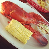 Photo taken at Old Port Lobster Shack by Vicki T. on 8/12/2012