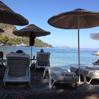 Photo taken at Beach Bar & Restaurant by Alinka K. on 9/1/2012