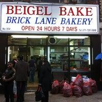 Photo taken at Beigel Bake by Martin P. on 6/14/2012