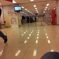 Photo taken at Banco Santander Irarrázaval by Rapunzzel R. on 6/13/2012
