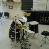 Photo taken at HCMS Band Room by Troy B. on 4/26/2012