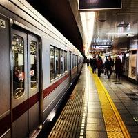 Photo taken at Hibiya Line Roppongi Station (H04) by Mizuho S. on 2/26/2012