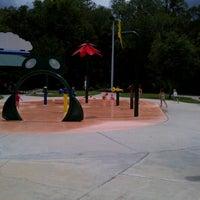Photo taken at Oldsmar Spray Park by Adrian D. on 8/2/2012