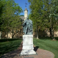 Photo taken at Wren Building and Courtyard by Graham G. on 4/20/2012