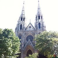 Photo taken at Basilique Sainte-Clotilde by R A. on 7/22/2012