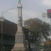 Photo taken at Downtown Eufaula by Fred on 3/17/2012