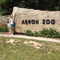 Photo taken at Akron Zoo by Randi L. on 6/10/2012