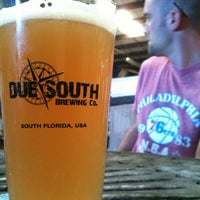Photo taken at Due South Brewing Co. by Jim N. on 5/12/2012