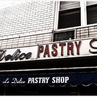 Photo taken at La Delice Pastry Shop by Susan B. on 3/23/2012