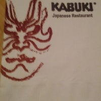 Photo taken at Kabuki Japanese Restaurant by Steve V. on 5/9/2012