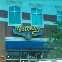 Photo taken at Potbelly Sandwich Shop by Mark B. on 4/22/2012