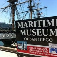 Das Foto wurde bei Maritime Museum of San Diego von Carolyn S. am 4/15/2012 aufgenommen