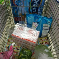 Photo taken at Tesco Hypermarket by Ijahafiza H. on 3/25/2012