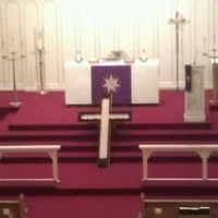 Photo taken at Immanuel Lutheran Church by The Lady on 4/18/2012