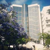 Photo taken at Faculdade de Ciências Sociais e Humanas da Universidade Nova de Lisboa by Freitas N. on 6/5/2012