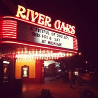 Photo taken at Landmark River Oaks Theatre by Chris R. on 5/6/2012