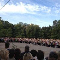 Photo taken at Школа № 89 by Natalia I. on 9/1/2012