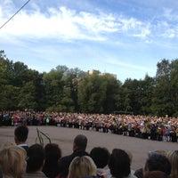 Photo taken at Школа № 89 by Natalia I. on 9/1/2012