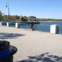 Photo taken at Canarsie Pier by Dean D. on 4/29/2012