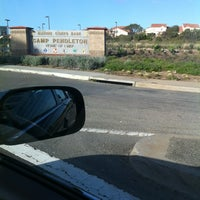 Photo taken at MCB Camp Pendleton - Main Gate by Jason A. on 2/29/2012