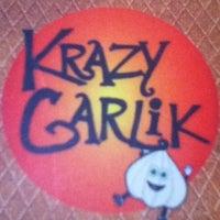 Photo taken at Krazy Garlik by January C. on 7/29/2012